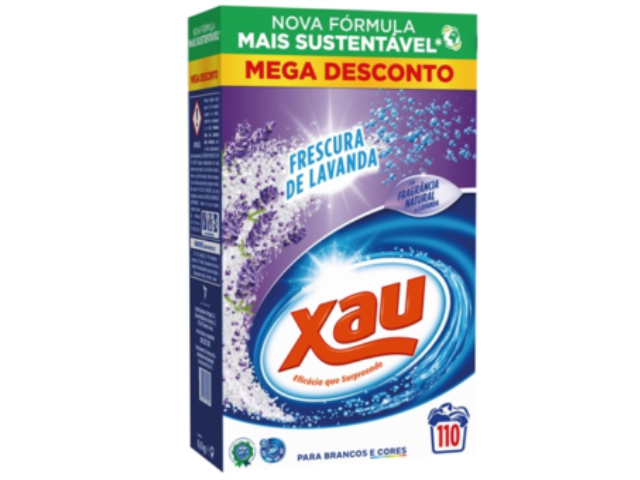 DET. PO XAU FRESCURA DE LAVANDA 110 DOSES