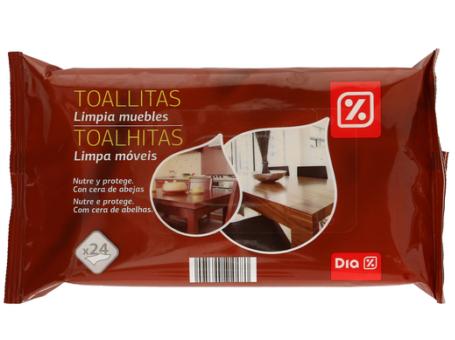 TOALHITAS LIMPA MOVEIS DIA 24UN C/16