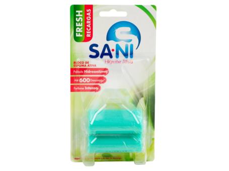 BLOCO SANIT. RECARGA SANI FRESH 2X50GRS C/16