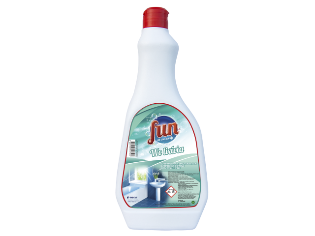 DESINF. SANITARIO C/LIXIVIA FUN 750ML C/15