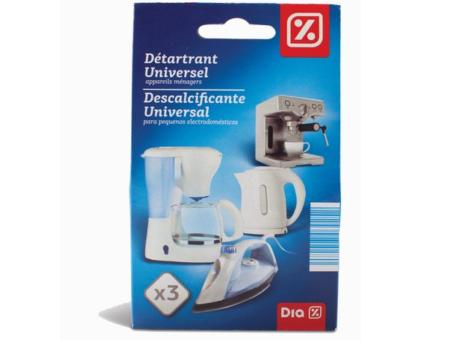 DESCALCIFICANTE UNIVERSAL DIA 3X25G C/10