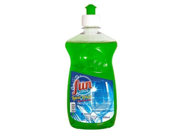 LAVA LOUÇA CONCENT. VERDE FUN 500ML C/12