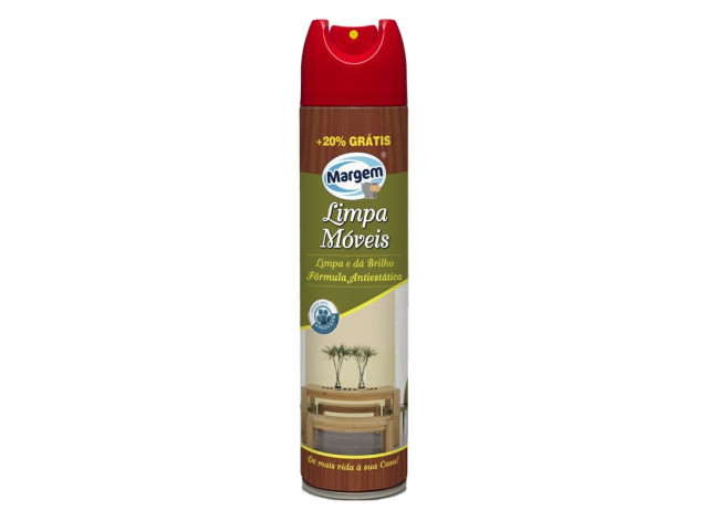 LIMPA MOVEIS SPRAY MARGEM 300ML C/12