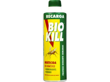 RECARGA INSETICIDA BIO KILL 375ML C/6