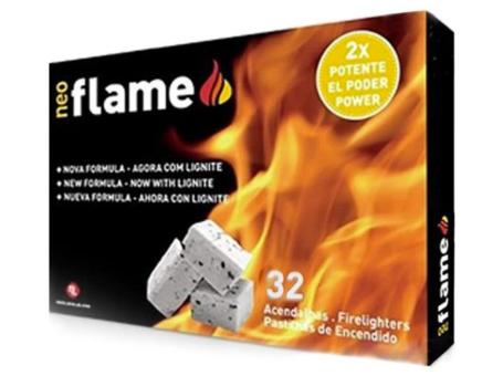 ACENDALHAS FLAMEFAST C/LIGNITE 32UN C/28