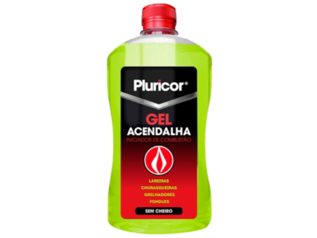 GEL ACENDALHA PLURICOR 500ML C/6