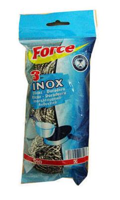 ESFREGAO INOX DIA 3UN C/32