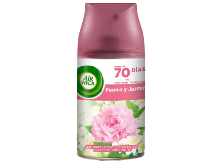 REC. AIR WICK F. MATIC PEONIA E JASMIN 250ML C/6