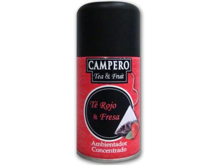 AMBIE. REC. CAMPERO CHA VERMELHO E MORANGO 250ML C/6