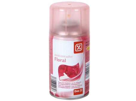 AMBIE. REC. DIA FLORAL 250ML C/6