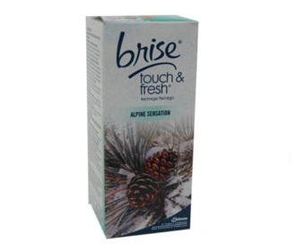 REC. BRISE TOQUE&FRESH ALPINE S. 10ML C/12