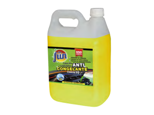 ANTICONGELANTE AUTOMOVEL 10% Mr. FUN 5LT C/4