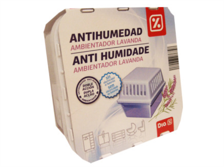 AMBIENTADOR ANTI HUMIDADE LAVANDA DIA C/6