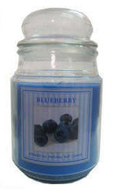 STAR CANDLE - VELA BLUEBERRY 510GRS C/6
