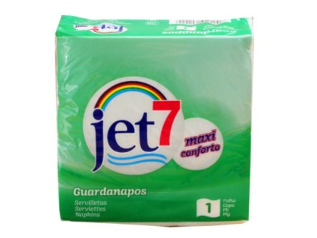 GUARDANAPOS JET 7 ECO F.SIMPLES C/72