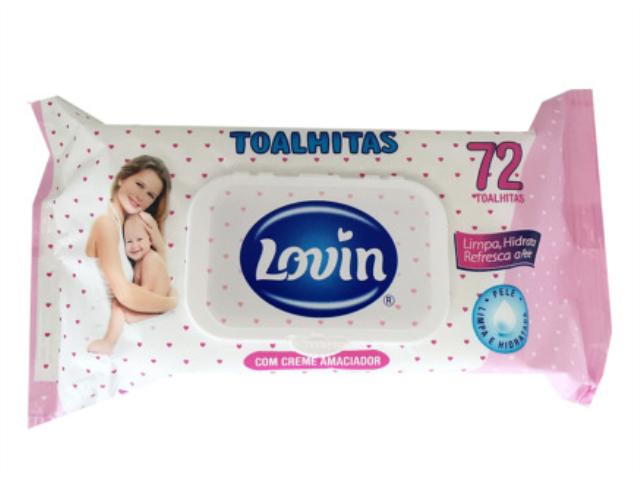 TOALHITAS LOVIN 72UN