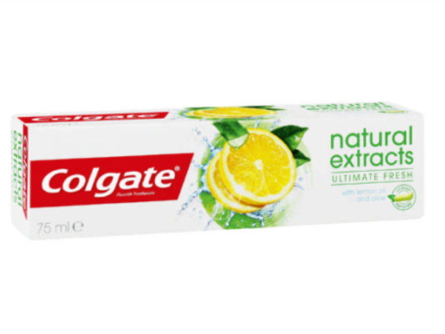COLGATE - NATURAL EXTRACTS 75ML C/12