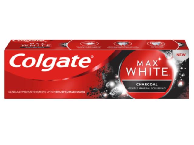 COLGATE MAX WHITE CARVAO 75ML C/12