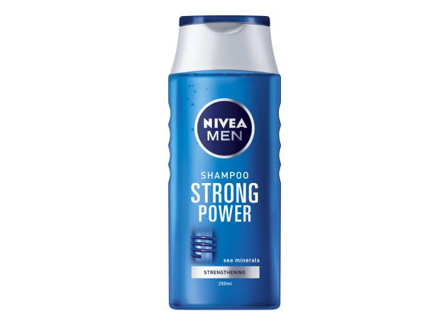CH. FORTALECE STRONG POWER MEN NIVEA 250ML C/12