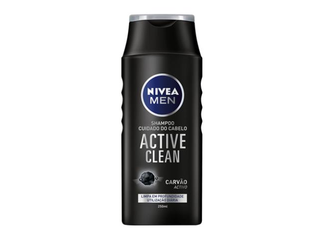CH. LIMP. PROFUNDA ACTIVE CLEAN MEN NIVEA 250ML C/12