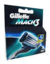LAMINAS GILLETTE MACH3 REC.4UN C/10