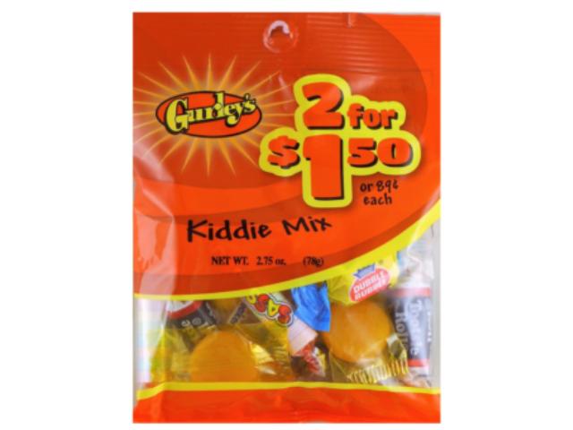 KIDDIE MIX GURLEYS 71G C/12