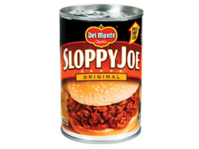 SLOPPY JOE ORIGINAL DELMONTE 425G C/12