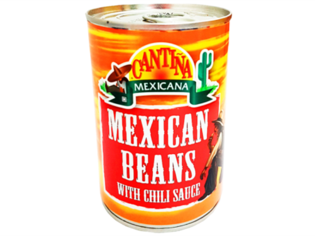 MEXICAN BEANS CHILI CM 410G C/12