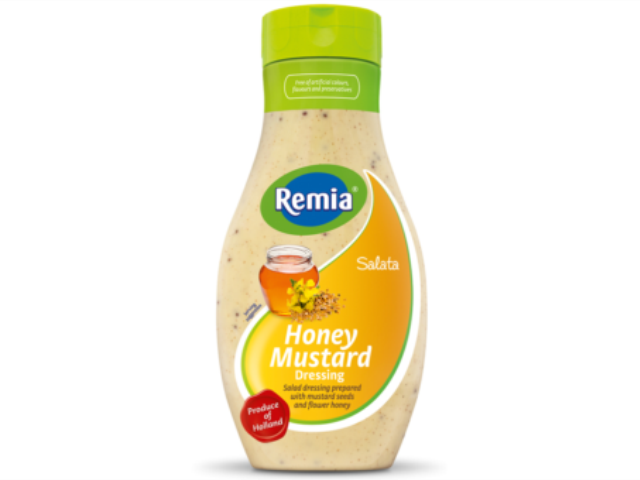 MOLHO MEL E MOSTARDA REMIA 500ML C/6