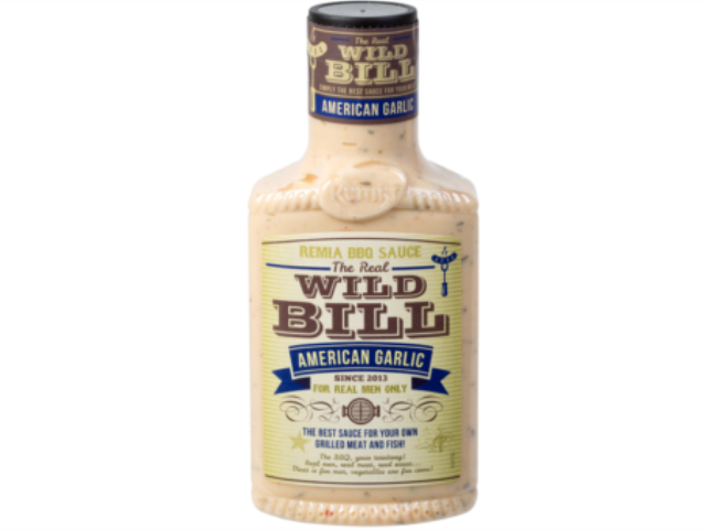 MOLHO P/BARBECUE GARLIC WILD BILL 450ML C/6