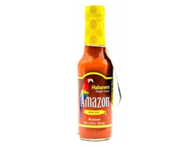 MOLHO PICANTE HABANERO AMAZON 155ML C/6