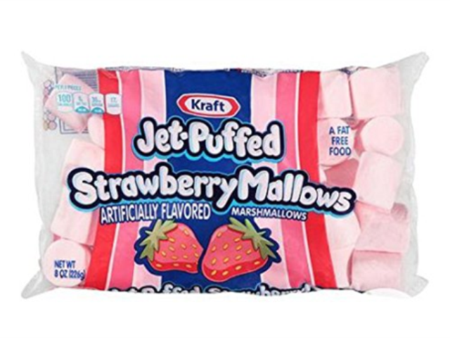 MARSHMALLOWS MORANGO JET-PUFFED 226G C/16