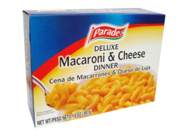 MACARRAO COM QUEIJO PARADE DELUXE 397G