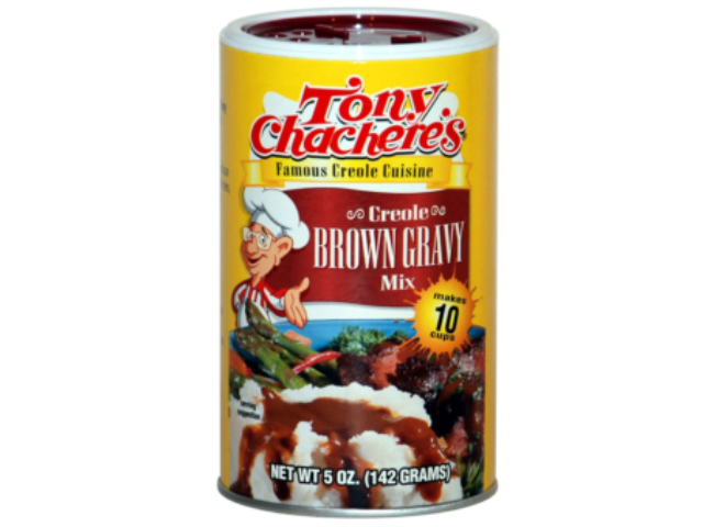 BROWN GRAVY MIX TONY CHACHERE´S 142G C/12