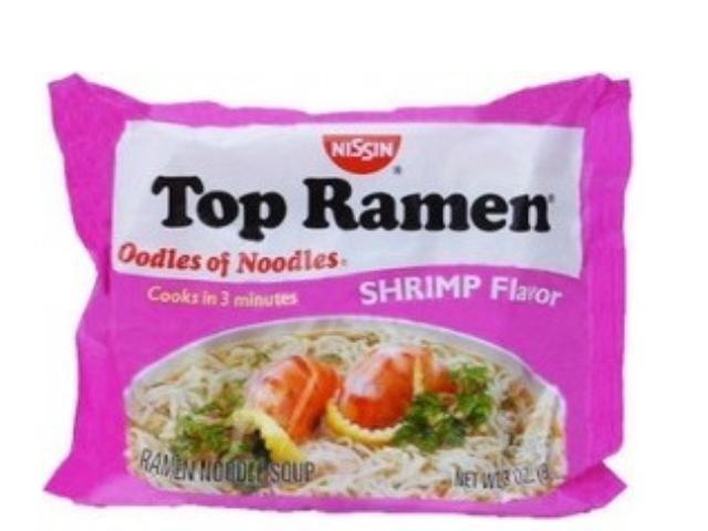 TOP RAMEN NISSIN - CAMARAO 85 GRS C/24