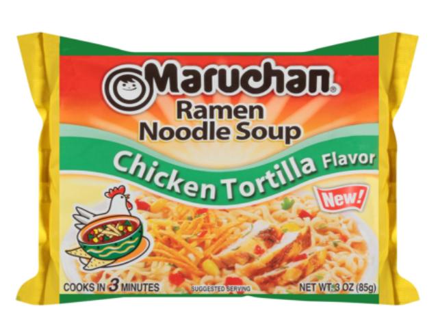 MASSA RAMEN MARUCHAN CHICKEN TORTILLA 85G C/24