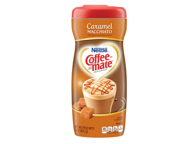 COFFEE-MATE CARAMELO/MACH. NESTLE 425.2G C/6