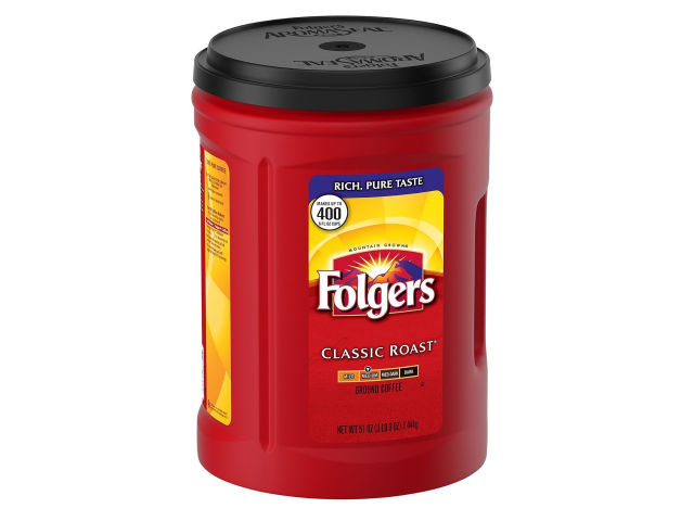 CAFE FOLGERS MAQ. 1.44KG C/6