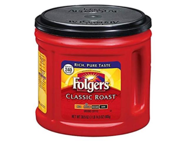 CAFE MAQ. FOLGERS CLASSIC 865G C/6