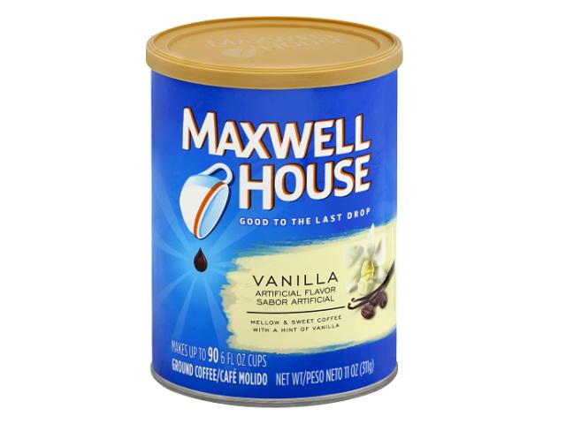 CAFE MAQ. MAXWELL HOUSE BAUNILHA 312G