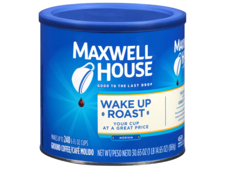 CAFE MAQ. MAXWELL HOUSE WAKE UP ROAST 869G C/6