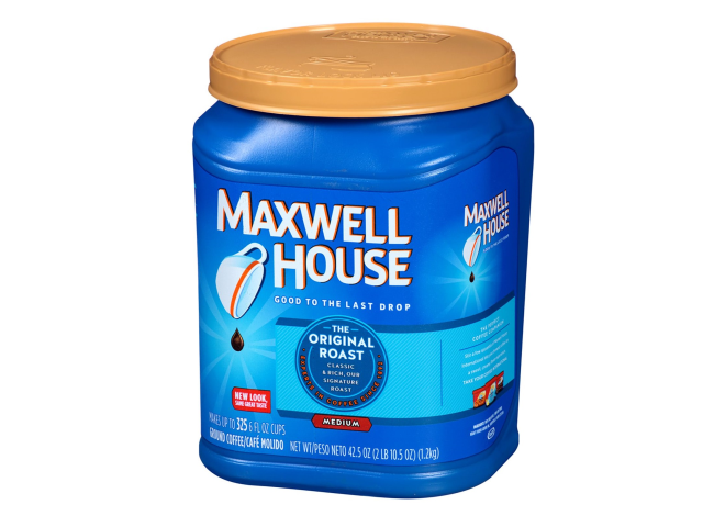 CAFE MAQ. MOIDO MAXWELL HOUSE 1.2KG C/6