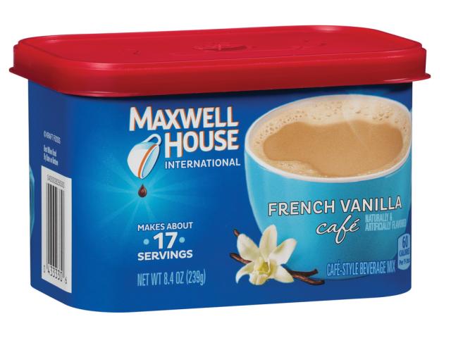 MAXWELL HOUSE CAPPUCCINO BAUNILHA 227G C/8