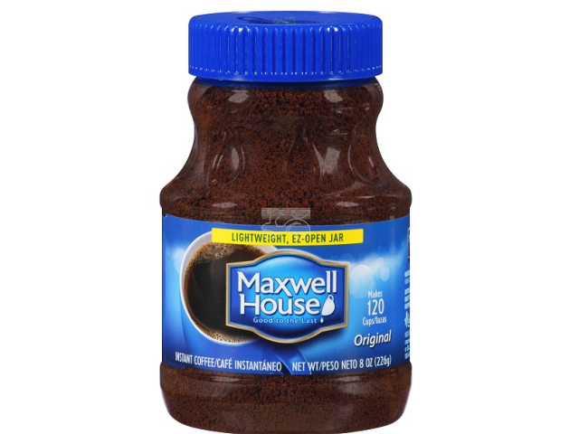 CAFE INSTANT. MAXWELL HOUSE 227G C/12