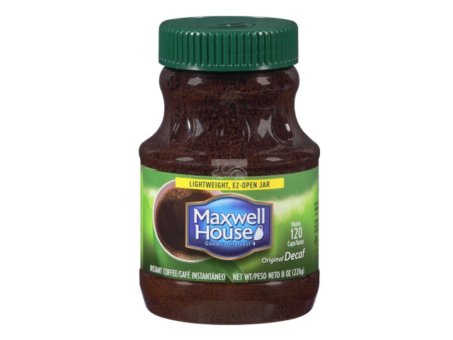 CAFE INSTANT. DESCAF. MAXWELL HOUSE 226G C/12