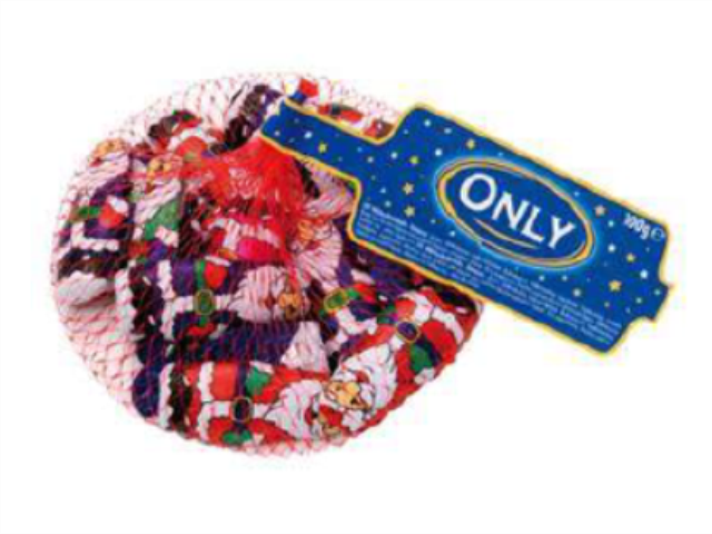 PAI NATAL CHOCOLATE MINIS ONLY 100G C/22